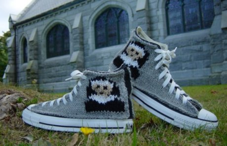 I'd knit these.