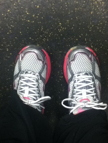 """""""The journey of a million miles begins with a single step...and a new pair of running shoes."""""""